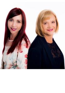 Johanna Leighton and Colleen Milne