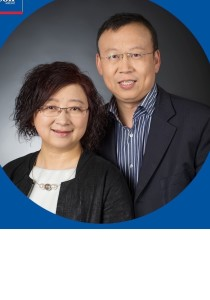 John Zhang and Louissa Bao