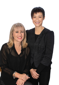 Teresa Lee and Judy Gong