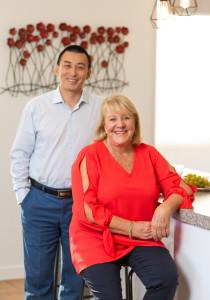 Kevin He & Gail Beaton