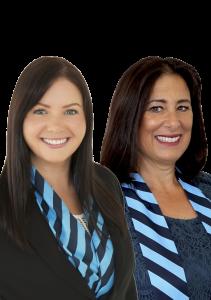 Amy-Rose O'Meara and Karen Hay