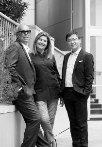 Catherine Henderson, Lindsay Hooke & Eric Xie