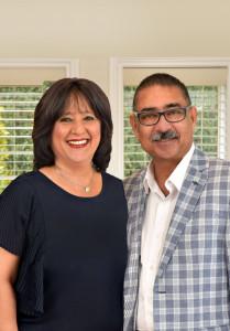 Anil and Shahina Oberoi