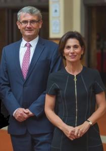 Everard Aspell and Antonella Aspell