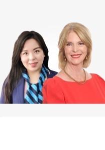 Midori Wang and Pauline Lancaster