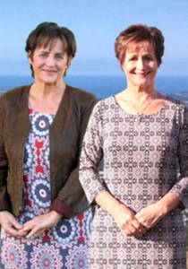 Trish Harrison and Helen Flynn