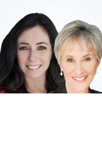Carol Wetzell and Cathy Fiebig