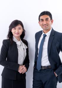 Amish Patel & Scarlett Ouyang