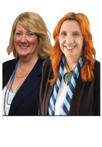 Sue Ellis and Kelly McKee