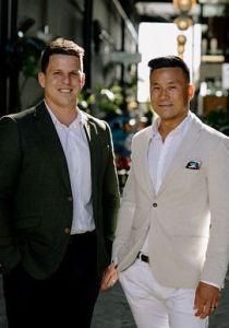 Wei Sen Chow and Richard Hartles