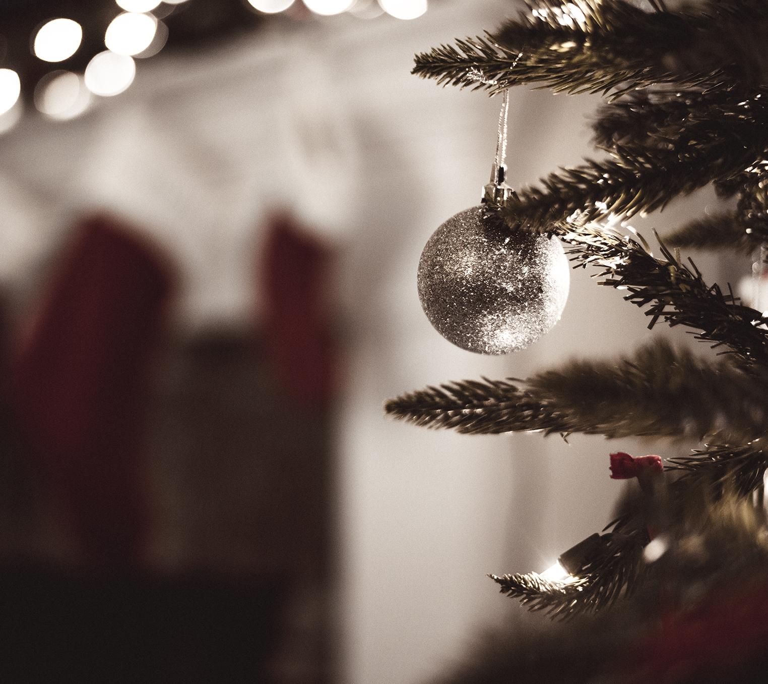 Christmas tree & ornament