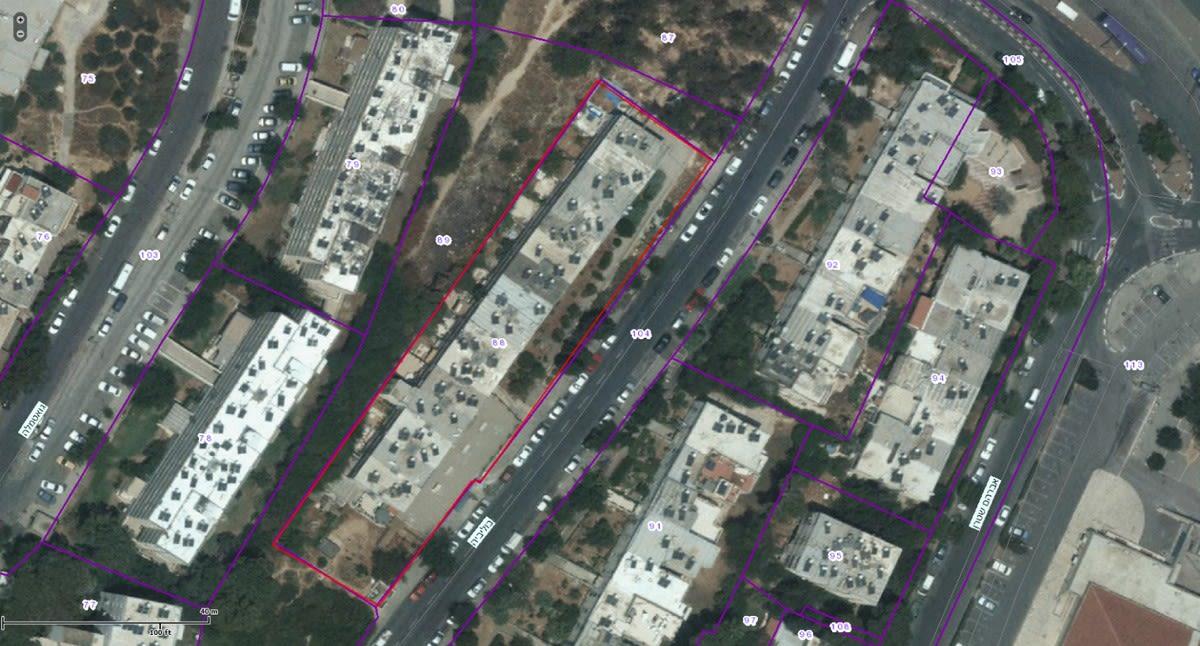 בוליביה 4, ירושלים - GIS