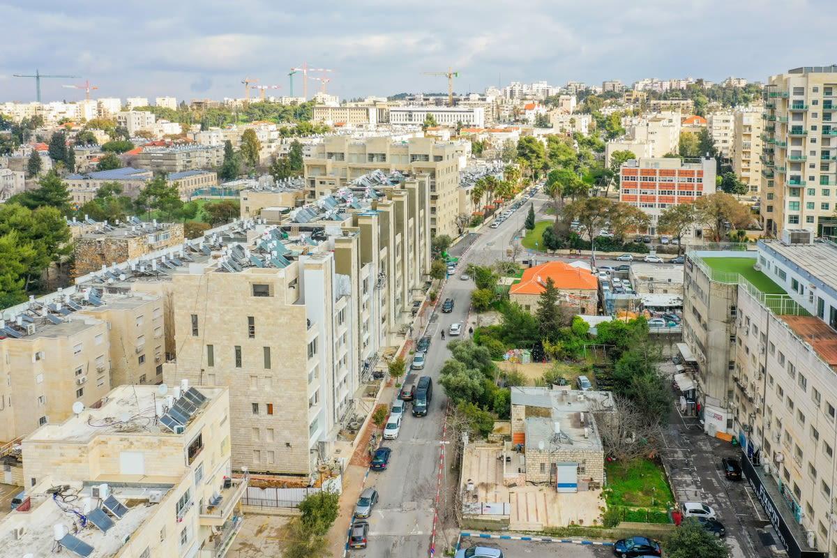 Rivka 22, Jerusalem – Tama 38 project - Construction work