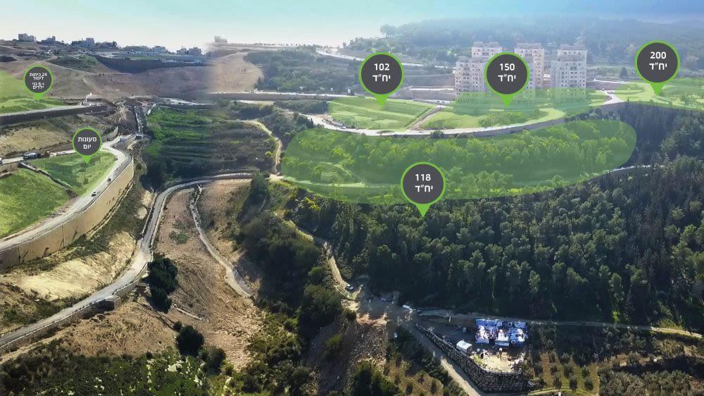 קבוצת רכישה - נצרת עלית - הר יונה הירוקה - הדמיה