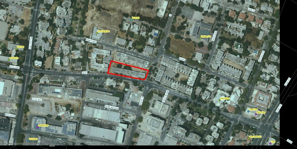 Rivka 22, Jerusalem – GIS
