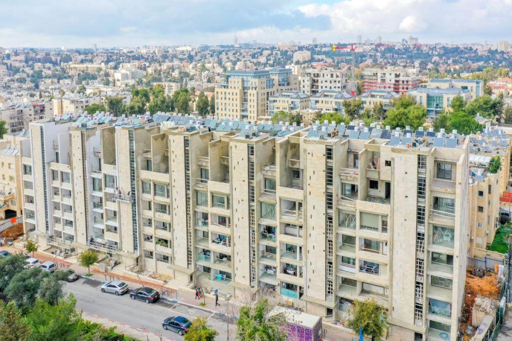 ֿרבקה 22 -  תמא 38 בירושלים - בשלבי בנייה