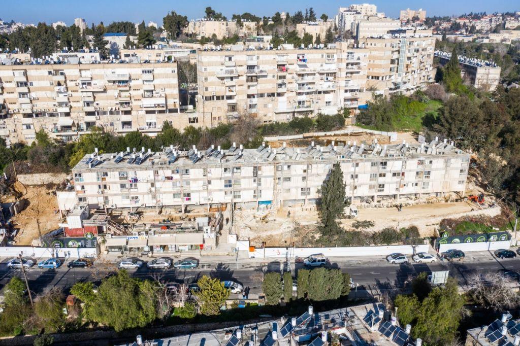 פרויקט תמ״א 38 בירושלים - בוליביה 4 - שלבי בנייה