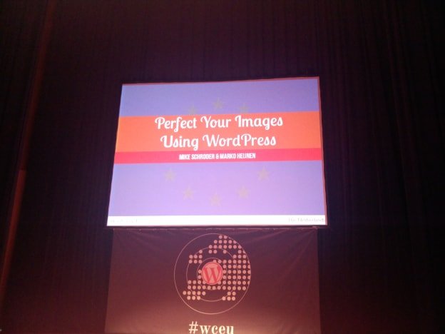 WCEU : Perfect your images using WordPress