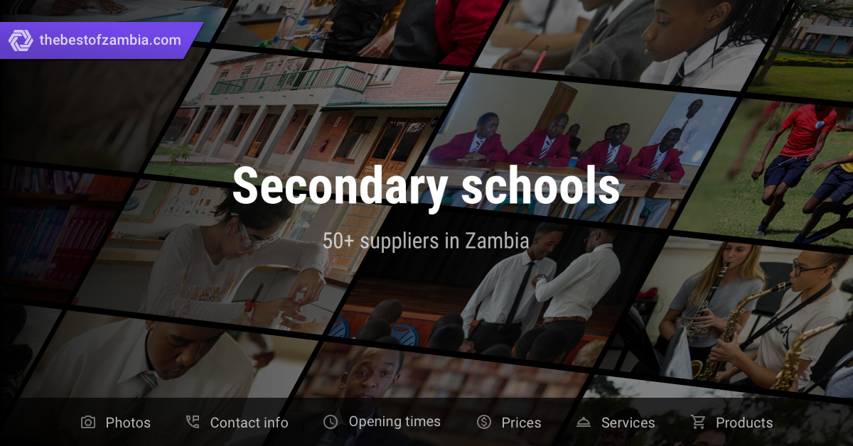 Secondary schools | Suppliers in Zambia