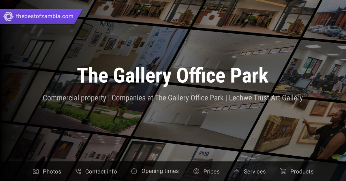 The Gallery Office Park | Commercial property, Companies at