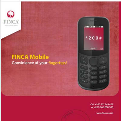 FINCA Mobile convenient at your finger tips! image