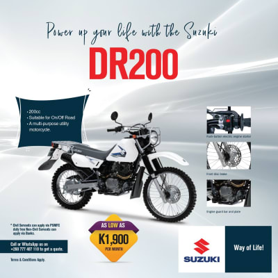Power up your life with the Suzuki DR200 image