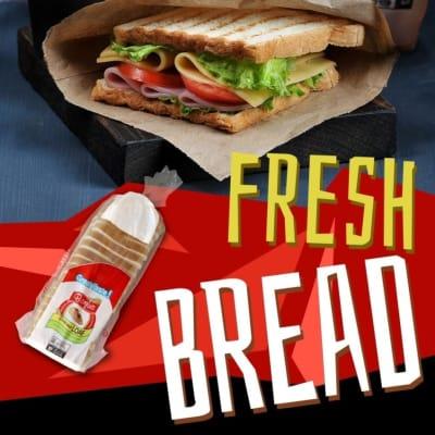 Fresh milk bread  image