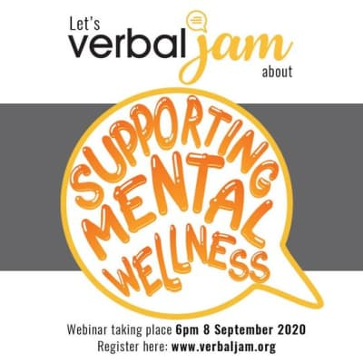 Join AISL for a Verbal Jam webinar – 'Managing Anxiety and Supporting Mental Wellness' image