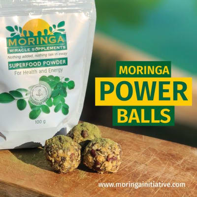 What better way to start the new week with a power snack- courtesy of Moringa image
