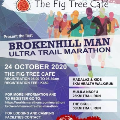 Cities Sports Consultants in Association with The Fig Tree Cafe presents the Brokenhill Man Ultra Trail Marathon image