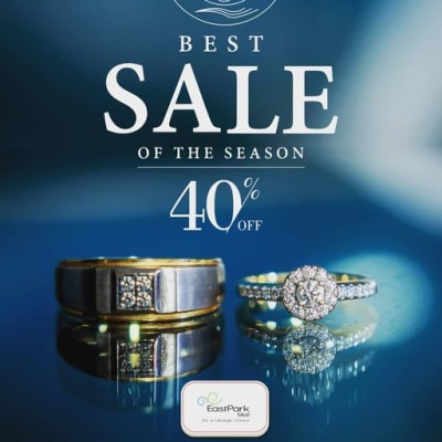 Massive discount - up to 40% off rings image