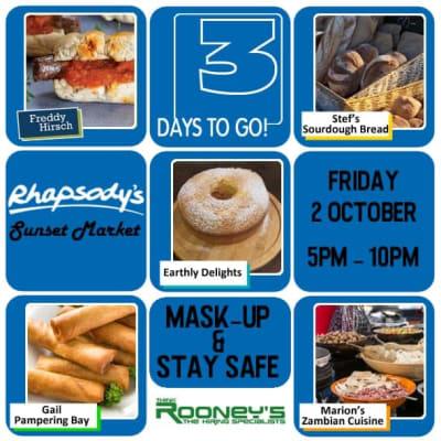 Rhapsody's, Lusaka Sunset Market image