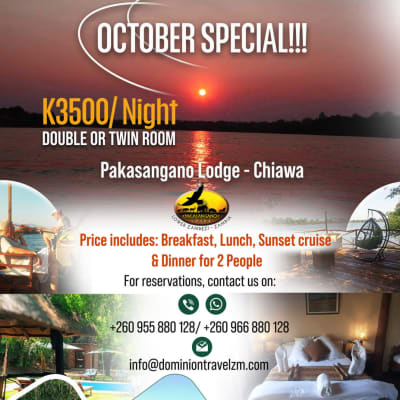 October Special - K3500/ night  image