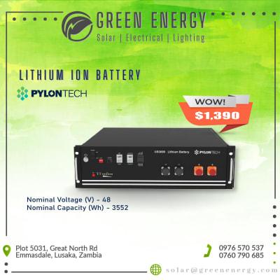 Lithium Ion Batteries image