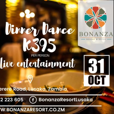 Dinner dance with live band entertainment image