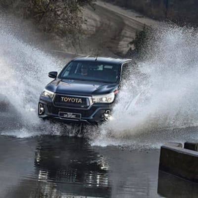 Toyota Zambia is proud to introduce to you the new Toyota Hilux GRS (Gazoo Racing Sport) image