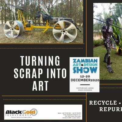 Turning art into scrap by Black Gold image