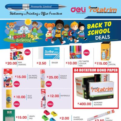 Visit us this Back-To-School season for all your scholastic stationery needs! image