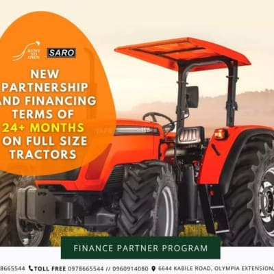 New partnership and financing terms of 24+ months on full size tractors image