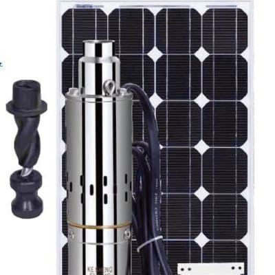 Suppliers and installers of high quality solar submersible pumps image