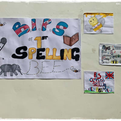 BIPS's first spelling bee competition image