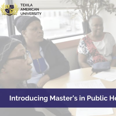 Introducing Master's in Public Health image