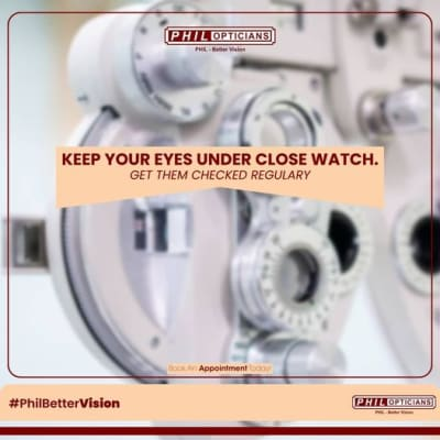 When was the last time you had your eyes checked? image