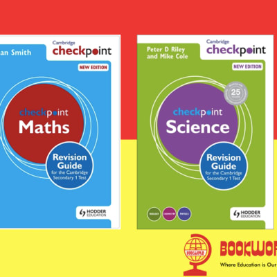 Just arrived!! Best selling Checkpoint Revision Guide's for the Cambridge Lower Secondary! image