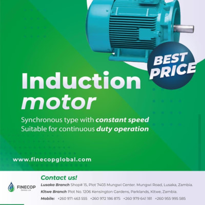 Special offer on Induction motors image