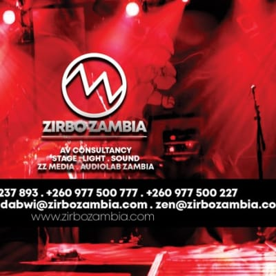 Share your event ideas and Zirbo Zambia will supply the tools to make it real! image