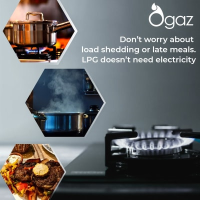 Lower your electricity bill with an LPG gas cylinder image