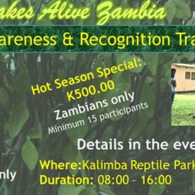 Snake Awareness and Recognition Training - October image