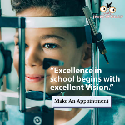 Excellence in school begins with excellent vision image