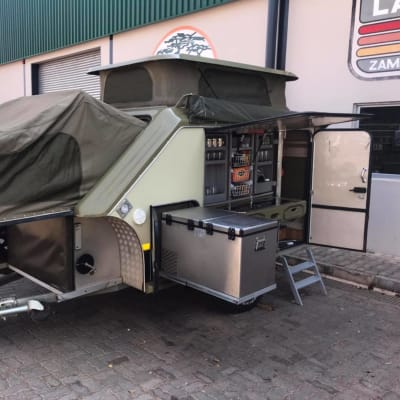 Camping trailer for sale at Mudpackers image